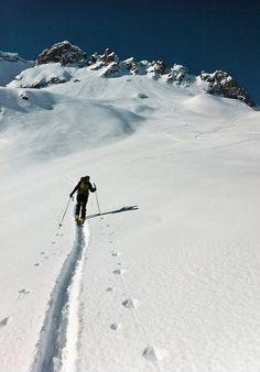 ski alpinisme | Tumblr, from Christophe. Belledone, Grenoble, France