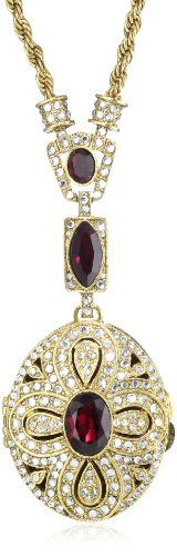 Antiquities Couture Heirloom Ruby Oval Locket « Holiday Adds