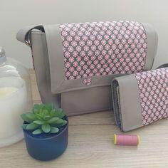 """Mag GyMag sur Instagram: Ma maman m'a récemment dit """"maintenant que tu as le temps, tu peux me faire un sac..."""" en prime elle aura un portefeuille…"""