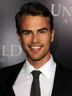 Theo James...A great physique and he looks great with a bit of stubble. He is very nice to look at.