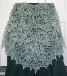 Ravelry: Spring Wood Shawl pattern by Denise Bartels, exquisite,  free