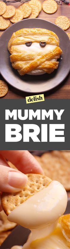 Watch this magical Mummy Brie come to life. Get the recipe on Delish.com.