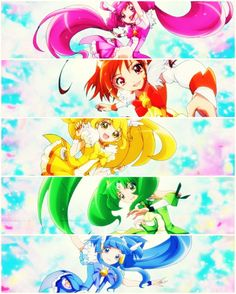 Smile Precure, my fav precure series