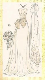"""""""After all there is something about a wedding gown  prettier than in any other gown in the world.""""   ~Douglas Willi..."""