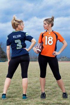 Sports - Seahawks vs Broncos Superbowl  Football