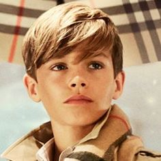 Could He Be Any Cuter? Romeo Beckham Stars in Burberry's Holiday Campaign #InStyle