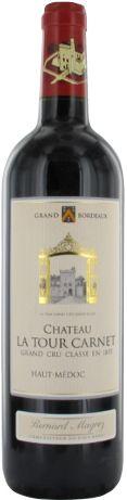 Château La Tour Carnet 4ème Cru Classé rouge 2007 - Haut-Médoc - 16/20 : Quoique déjà ouvert, le vin est encore très jeune avec une fort belle réserve, le tout est long et plein  En savoir plus : http://avis-vin.lefigaro.fr/vins-champagne/bordeaux/medoc/haut-medoc/d15730-chateau-la-tour-carnet/v15731-chateau-la-tour-carnet/vin-rouge/2007#ixzz373LG9W28
