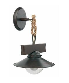 CUCINA Faro Nudos 68138 Lampada Parete 1 Luce