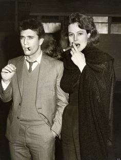 Thierry et ses cigares: Mel Gibson et Sigourney Weaver (The Year Of Livin...