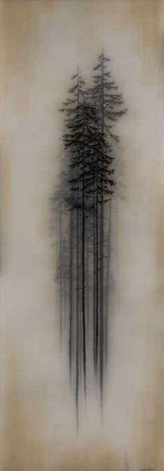Flight and Sail ~ resins and transparent tape over graphite drawing | Brooks Shane Salzwedel