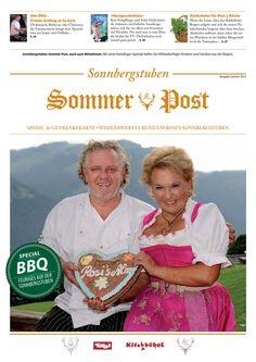 Sonnbergstuben Sommer Post 2015 Baseball Cards, Post, Wine List, Celebs, Summer