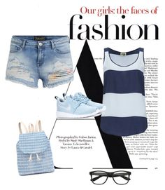 """"""":)"""" by dida-p ❤ liked on Polyvore featuring Twist & Tango and NIKE"""