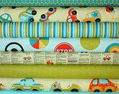 Peak Hour Fabric by Kelly Wulfsohn for Riley Blake- Blue 1/2 Yard Bundle, 8 total (i have a few prints...I NEED the rest!) lol