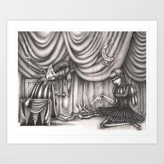 #art #illustration #artprints #givethegiftofart #gift #sales #forsale #supportartists #darkart #gothic #brokentoys #jackandjill #storybook