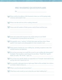 Wedding planner contract wedding planner contract template stuff pre wedding consultation form for brides and photographers free download junglespirit Images