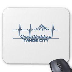 #Granlibakken  -  Tahoe City - California Mouse Pad - #office #gifts #giftideas #business