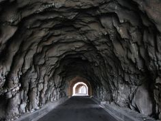 Old tunnel trails in Columbia River gorge                                                                                                                                                                                 More