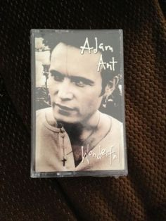 Adam Ant Wonderful Cassette Brand New Sealed new wave post-punk