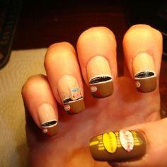 Tim Horton's manicure
