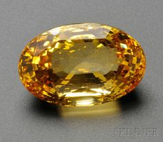 *gasp* Oh my....  (149.87 natural yellow sapphire)