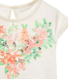 Zara baby girl printed shirt