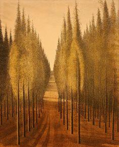 Leon Spilliaert, Three Trees, 1944 -