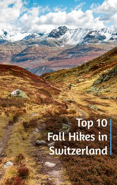 Here are a few of our favorite fall hikes in Switzerland at higher elevations, where we have seen the prettiest fall colors. Switzerland Itinerary, Switzerland Cities, Switzerland Vacation, Visit Switzerland, Weekend Trips, Vacation Trips, Swiss Travel, Seen, Europe