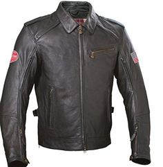 Indian Motorcycle biker jackets deliver a classic and iconic look for riders. Indian Motorcycle carries a wide variety of motorcycle jackets for men and women. Motorcycle Store, Motorcycle Outfit, Motorcycle Jacket, Custom Leather Jackets, Embroidered Jacket, Sport Bikes, Vest Jacket, Black Leather, Menswear