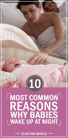 10 Most Common Reasons Why Babies Wake At Night Why Does My Baby Suddenly Wake Up At Night? Here are some very common reasons that could be causing your baby to wake up at night The Babys, Get Baby, Baby Sleep, Toddler Sleep, Kids And Parenting, Parenting Hacks, Preparing For Baby, Baby Arrival, After Baby