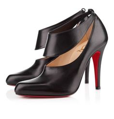 Black Christian Louboutin Miss zorra 100mm Leather