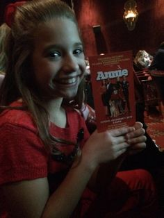 Kenzie at the World Premiere of Annie!