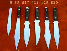 Branton Knives offer Quality Custom Knives at Affordable Prices to any person who uses a knife daily. In addition to my line of throwing knives, I am making quality tactical folders and small to medium sized fixed blades for EDC.