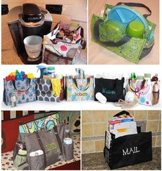 All in one ideas and an Organizing Utility Tote