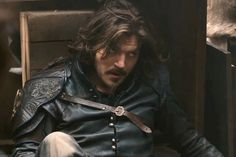 """""""Countdown to Christmas - Athos season Bbc Musketeers, Tom Burke, Bbc Tv Series, Brothers In Arms, Handsome Actors, Every Man, Toms, Leather Jacket, Twitter"""