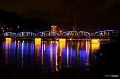Cinco pontes - a primeira ponte entre Vitória e Vila Velha