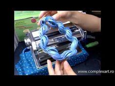 Tutorial Polymer Clay - Realizarea unui colier din pasta polimerica Cernit - YouTube