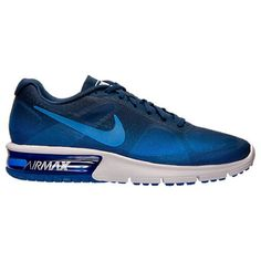 Nike Men's Shoes Nike Air Max Sequent Running Sneakers Blue 719912404 (9.5  US/ 8.5