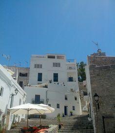 En las calles de Ibiza
