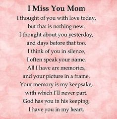 Mom In Heaven Quotes, Missing Mom In Heaven, Rip Mom Quotes, Mother In Heaven, Quotes Quotes, Eulogy Quotes, Mom Qoutes, Heaven Poems, Child Quotes