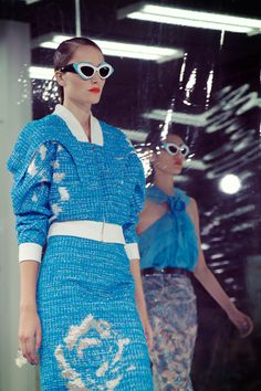 NYFW Backstage: Prabal Gurung retro show