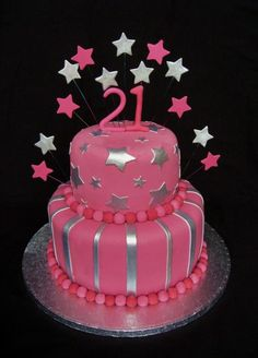 Cake Designs For Birthday For A Girl . Cake Designs For Birthday For A Girl Birthday Cake Girls Birthday Cake Cakes Birthday Cake Models, 21st Birthday Cake For Girls, Sweet Birthday Cake, Creative Birthday Cakes, Birthday Cake With Photo, Cupcake Birthday Cake, Birthday Cake Decorating, 21 Birthday, Birthday Ideas