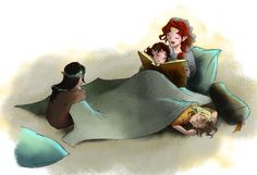 oh my goodness, they are too cute as kids!!!--Under the Light of Telperion. Credit: greenapplefreak