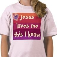 """Jesus Loves Me Shirt  Youth Tee Shirt with graphic designs and Jesus loves me quote"""" data-componentType=""""MODAL_PIN"""