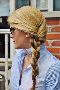 I like the color and the braid