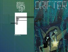 DRIFTER #2 cover design, artwork by Becky Cloonan.