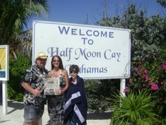 YOLO (you only live once)  Photo posted by:Starlett Murray  Steve, Starlett, Jordyn (not pictured) and Zachariah Murray during a family vacation to Half Moon Cay, Bahamas last week.