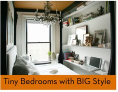 Tiny bedrooms with big style