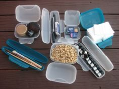 Re-use, storage ideas for Radius personal travel cases. Use for make-up, sketch tool kit, aromatherapy, snacks for baby or hold your memory cards. Go Radius!