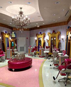 Bibbidi Bobbidi Boutique: A Primer - blog.touringplans.com ~~ BBB Downtown Disney Location