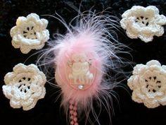 Set of Four Mini Crochet Doilies by TheEiffelTeaRoom on Etsy, $3.95